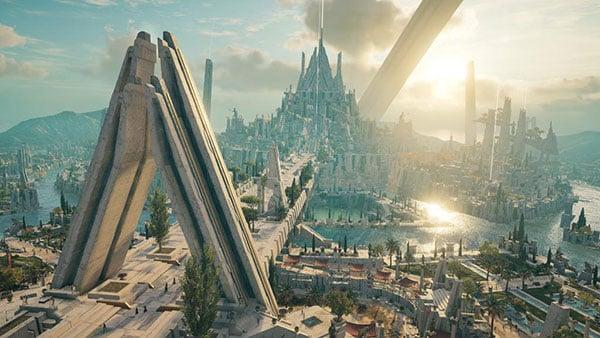 Assasins Creed Odyssey Landscape Ubisoft