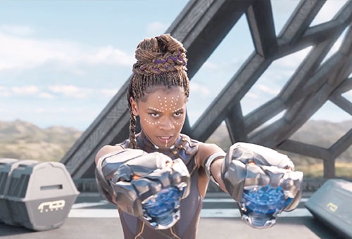 Black Panther - Shuri Fight Scene