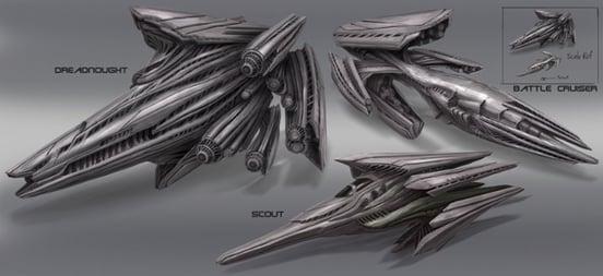 edwin ho space ships f