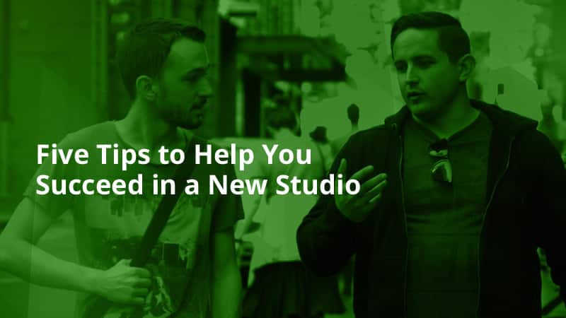 five tips to help you succeed in a new studio 1