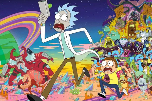rick-and-morty-2d-animation