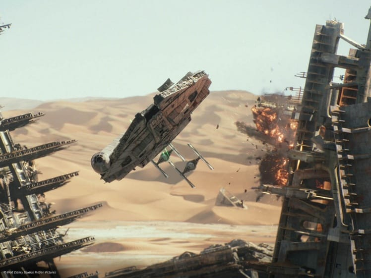 star wars force awakens ILM