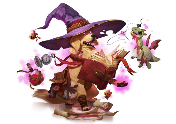 Sir Cornelius - Dungeons & Doggies - Concept Art by April Prime