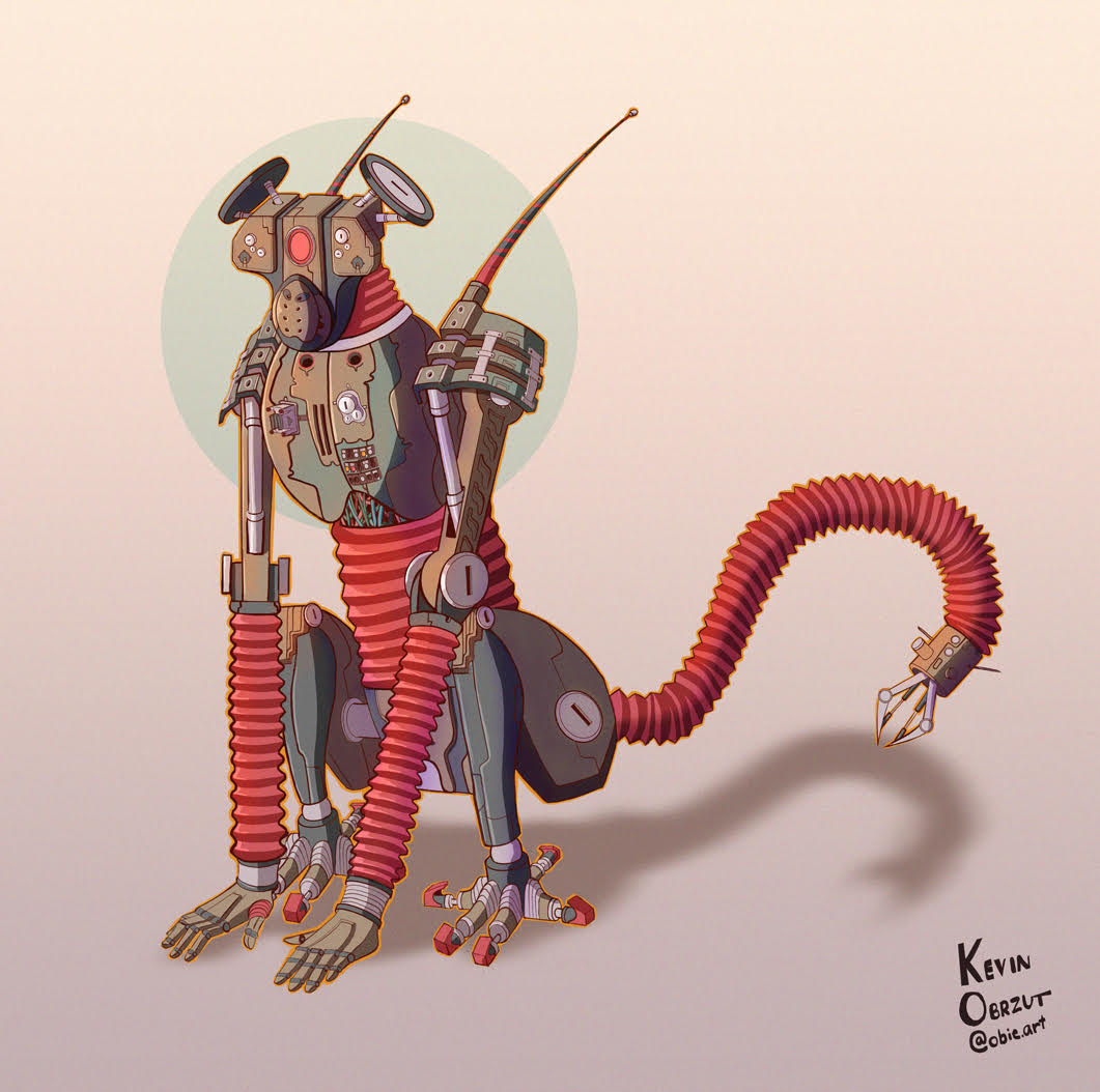 Kevin Obrzut - Monkey Droid