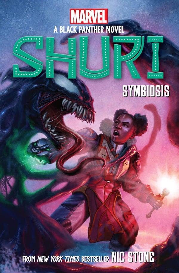 Shuri book cover illustration