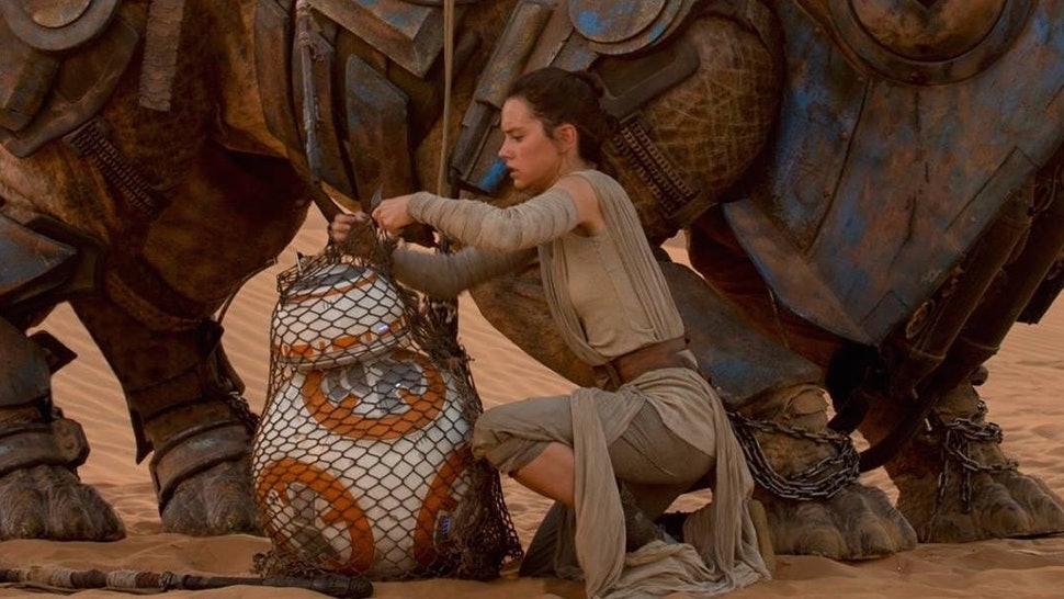 Star Wars Force Awakens Rey
