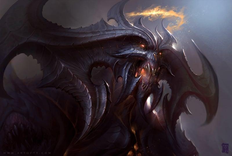 Diablo 3 Fan Art by Tyler James