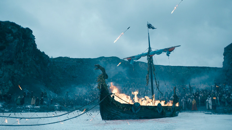 Vikings Season 6: Brittany was responsible for compositing fire and CG people