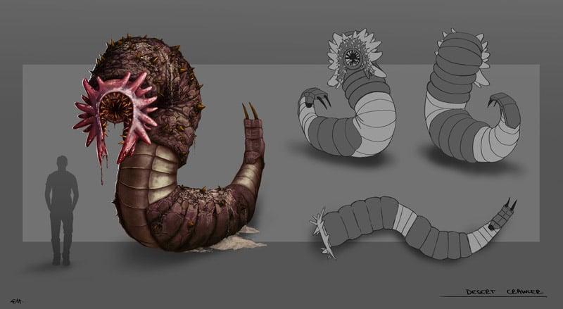 Creature Concept Art by Erika Hornakova