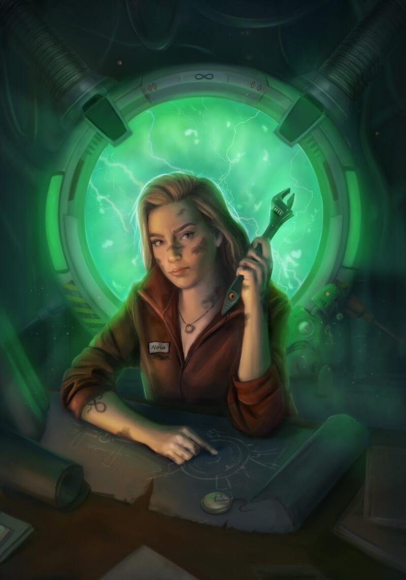 Jessica Geis Sci-fi Book Cover