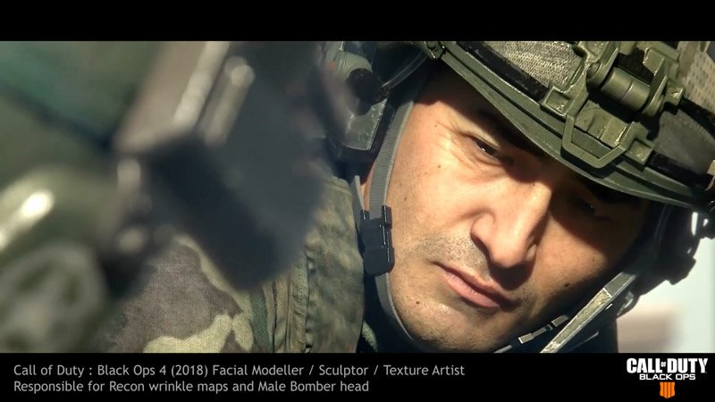 Stephen Clark 3D Modeling Work on Call of Duty