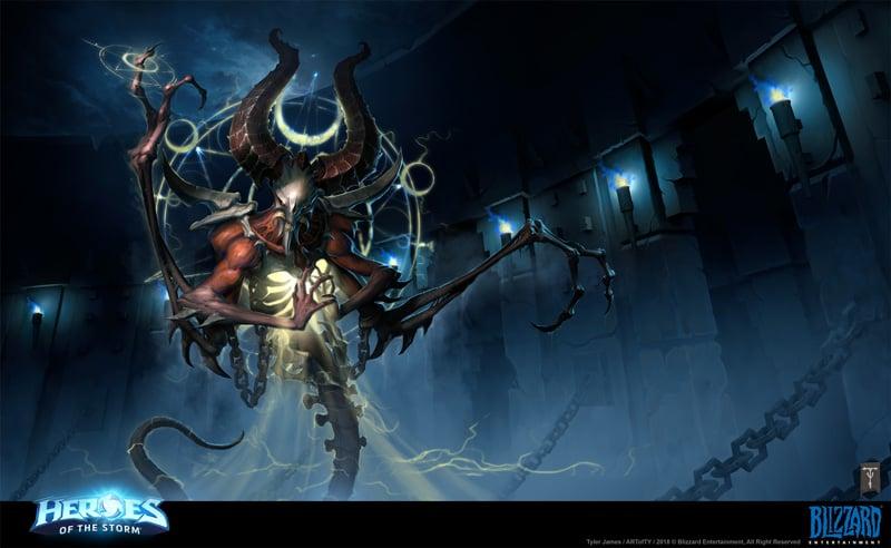 Heroes of the Storm Splash Art, by Tyler James