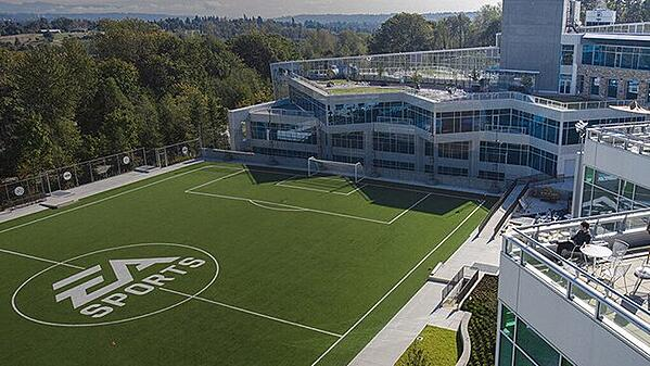 Electronic Arts Office Exterior, Burnaby, Vancouver, Canada