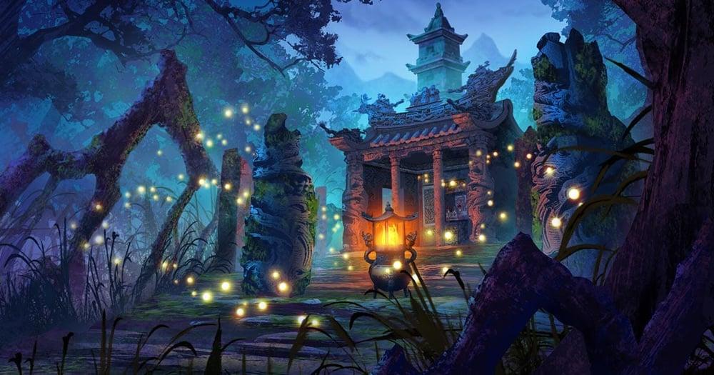 Xiaoya Lin Concept Art Temple