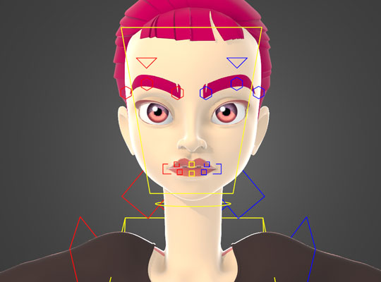 Facial Rigging & User Interface