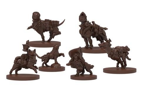 Dungeons & Doggies miniatures