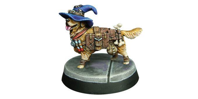 Dungeons & Doggies - Sir Cornelius Figurine