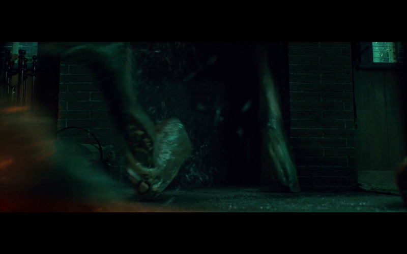 Scary Stories to Tell in the Dark: Compositor Brittany was responsible for integrating CG limbs and water FX