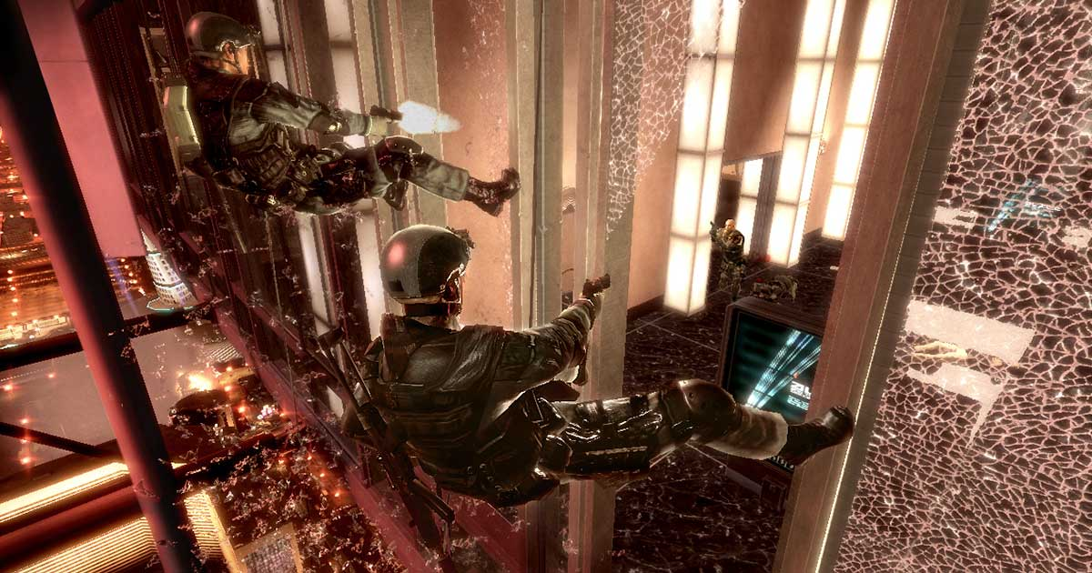 Tom Clancy's Rainbow Six Vegas Video Game Still