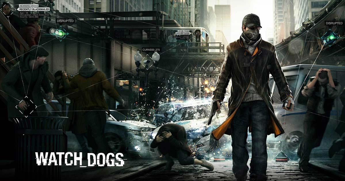 Watch Dogs Game Poster