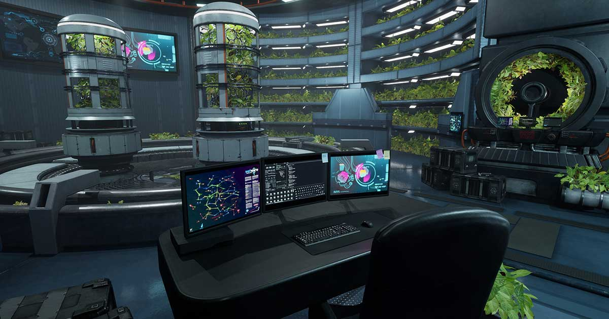 What is Texturing - Image: Hydroponics Lab by Paul Griffin